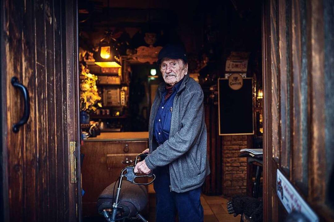 Im nächsten Jahr wird Rudi Kuhni 90. Kein Grund, ans Aufhören zu denken.  | Foto: Felix Groteloh