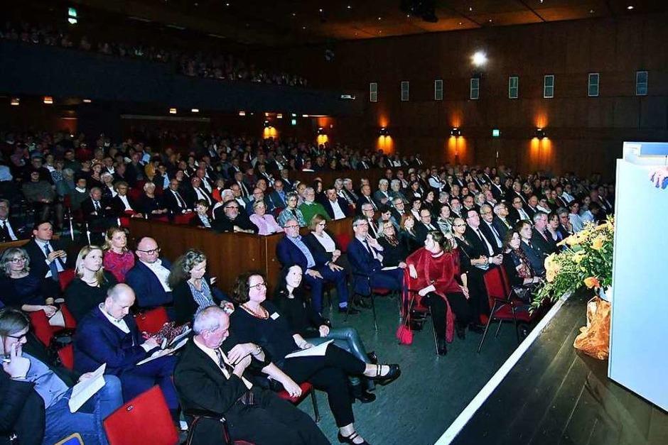Neujahrsempfang der Stadt Lahr im Parktheater (Foto: Wolfgang Künstle)