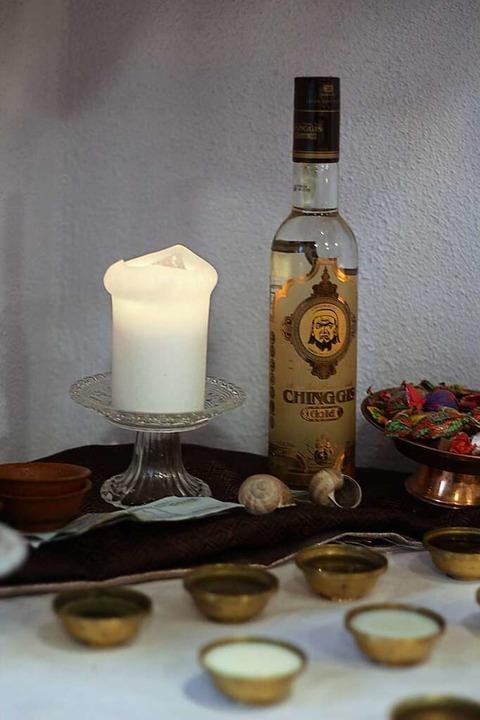Das schamanische Sagrotan: Wodka  | Foto: Joshua Kocher