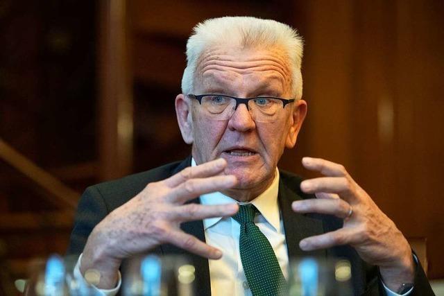 Kretschmann bremst beim Wahlkampf:
