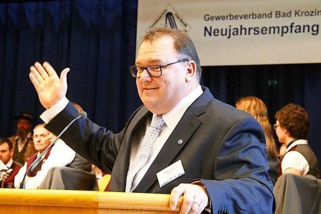Neujahrsempfang des Bad Krozinger Gewerbeverbandes