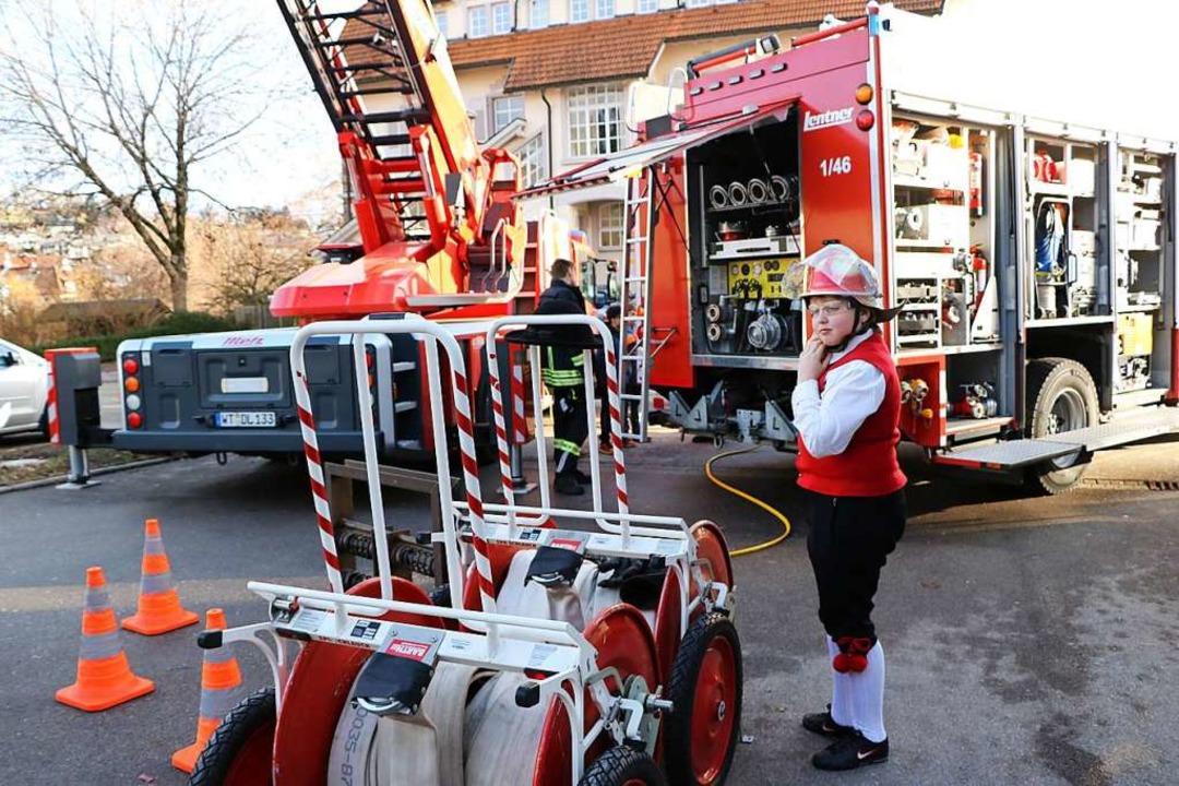 Trachtengruppe meets Feuerwehr - der V...itäten anderer Vereine zu informieren.  | Foto: Martha Weishaar
