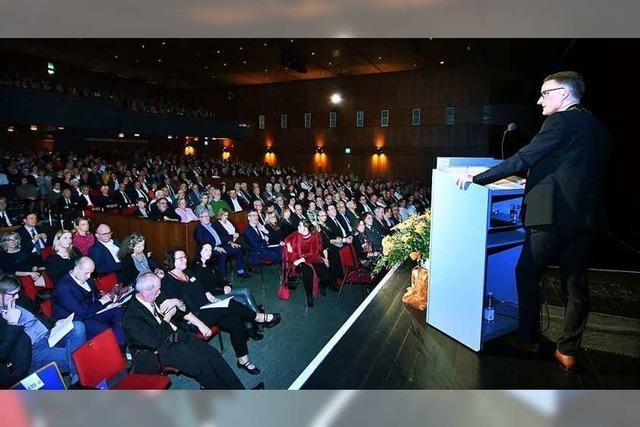 Das Klima rückt in Markus Iberts Rede an die erste Stelle