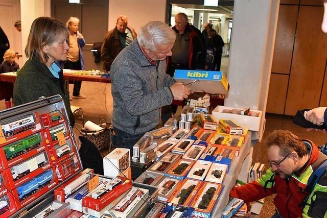 Die Rheinfelder Modellbaubörse ist ein Erlebnis für Sammler und Tüftler