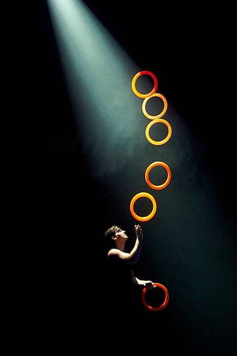 Jonglage der Superlative mit Jonglissimo.  | Foto: GERHARD GAHR
