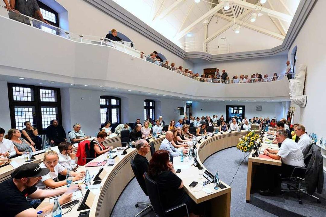 Was die AfD angeht, herrscht Einigkeit im Rat.   | Foto: Ingo Schneider