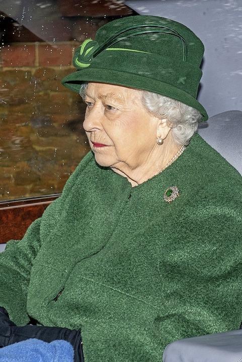 Hat Redebedarf: Queen Elizabeth    Foto: Joe Giddens (dpa)