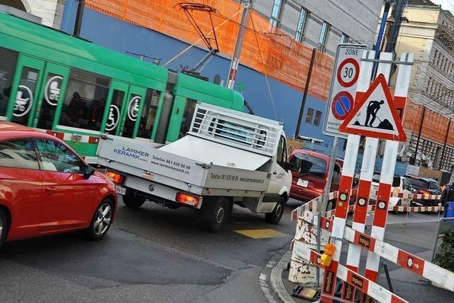 Basel erwartet ein ruhigeres Baustellenjahr