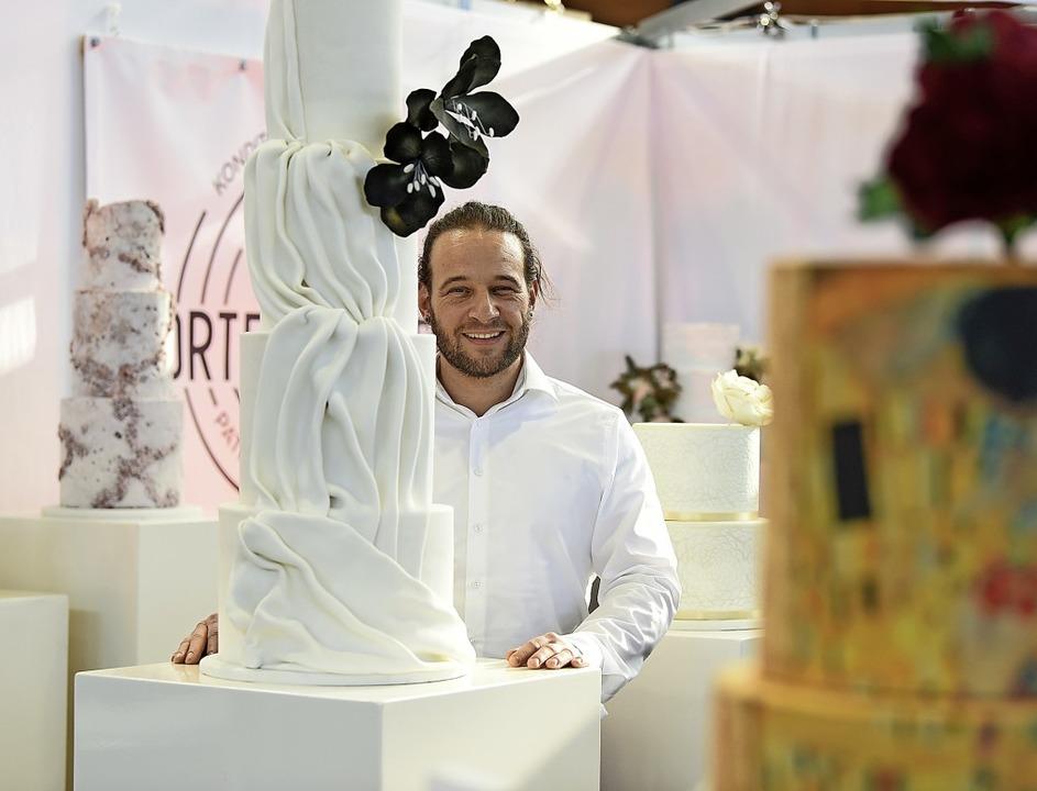 Der langjährige Bäcker Patrick Kaltenb...reie Kuchen und Torten spezialisiert.   | Foto: Rita Eggstein