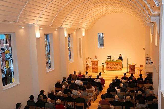 Die evangelische Kirche ist eingeweiht
