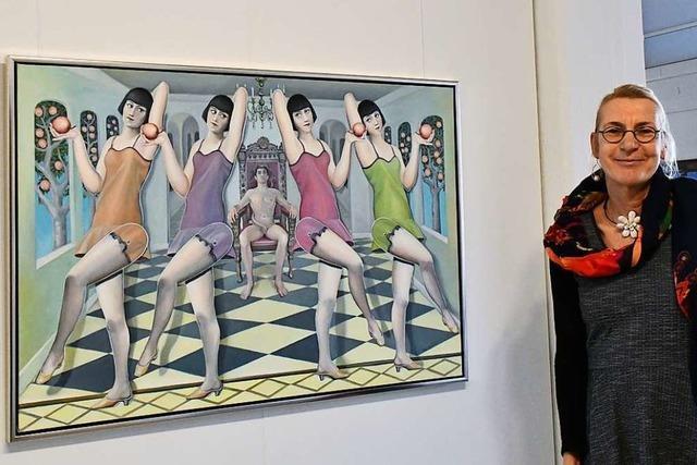 Marga Golz zeigt traumhaft schöne Illusionen in Schopfheim