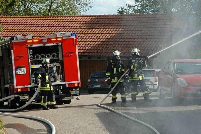 Neubau des Feuerwehrhauses für die Abteilung Murg-Nord frühestens in fünf Jahren
