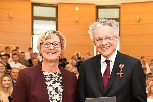 Freiburger Arzt Christoph Bode erhält Bundesverdienstkreuz