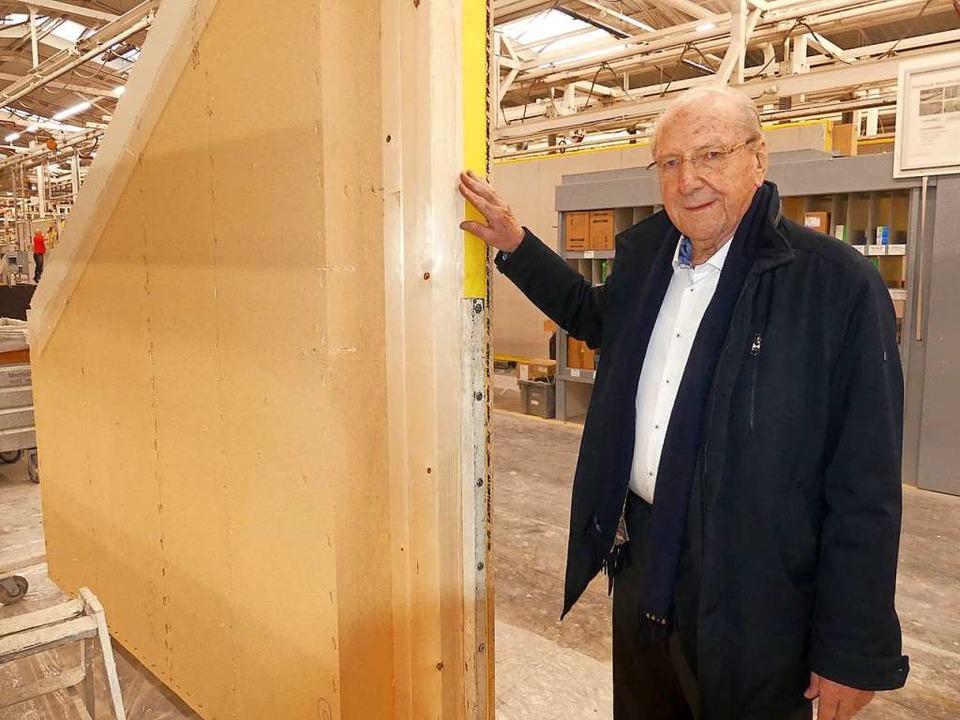 Firmengründer Hans Weber hat einst mit 800 D-Mark als Startkapital angefangen.  | Foto: mimo