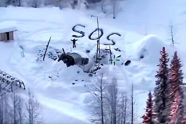 Mann überlebt fast drei Wochen in eiskalten Wäldern Alaskas