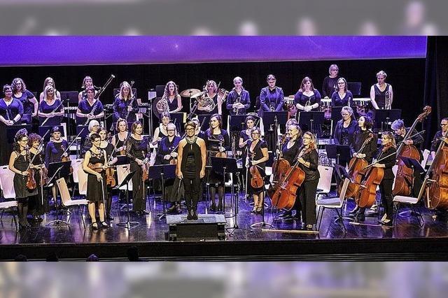 Les Elles Symphoniques in Neuenburg