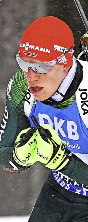 Biathlet Roman Rees bekommt seine Weltcupchance.   | Foto: Sven Hoppe