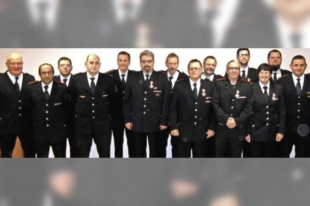 Ehrenhafter Dienst in der Wehrer Feuerwehr
