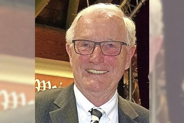Fritz Schlotter ist Ehrenbürger von Teningen