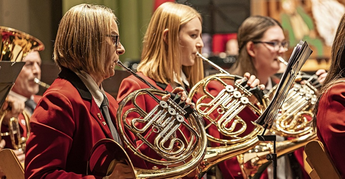 Der Gottenheimer Musikverein gab in Bötzingen sein Jahreskonzert.   | Foto: Hubert Gemmert