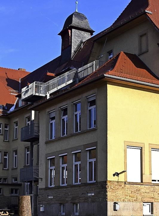Die Friedrich-Ebert-Schule wird saniert und umgebaut.  | Foto: Stefan Ammann