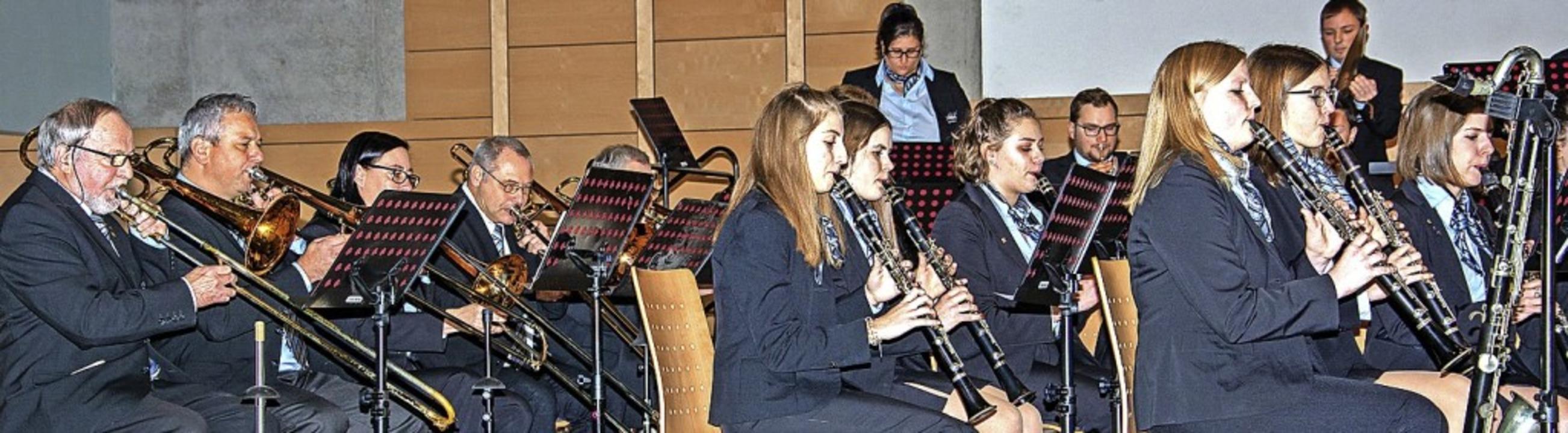 Beim  Neujahrskonzert feierten die Sta...tigkeit österreichischer Komponisten.     Foto: Paul Eischet