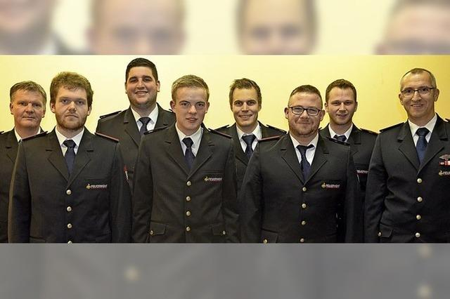 Gerald Schneider führt künftig die Abteilung der Feuerwehr in Hütten