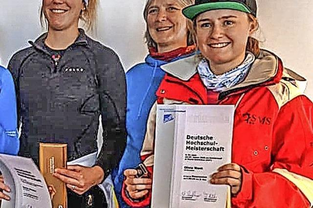 Zwei Meistertitel für Maren Wiesler