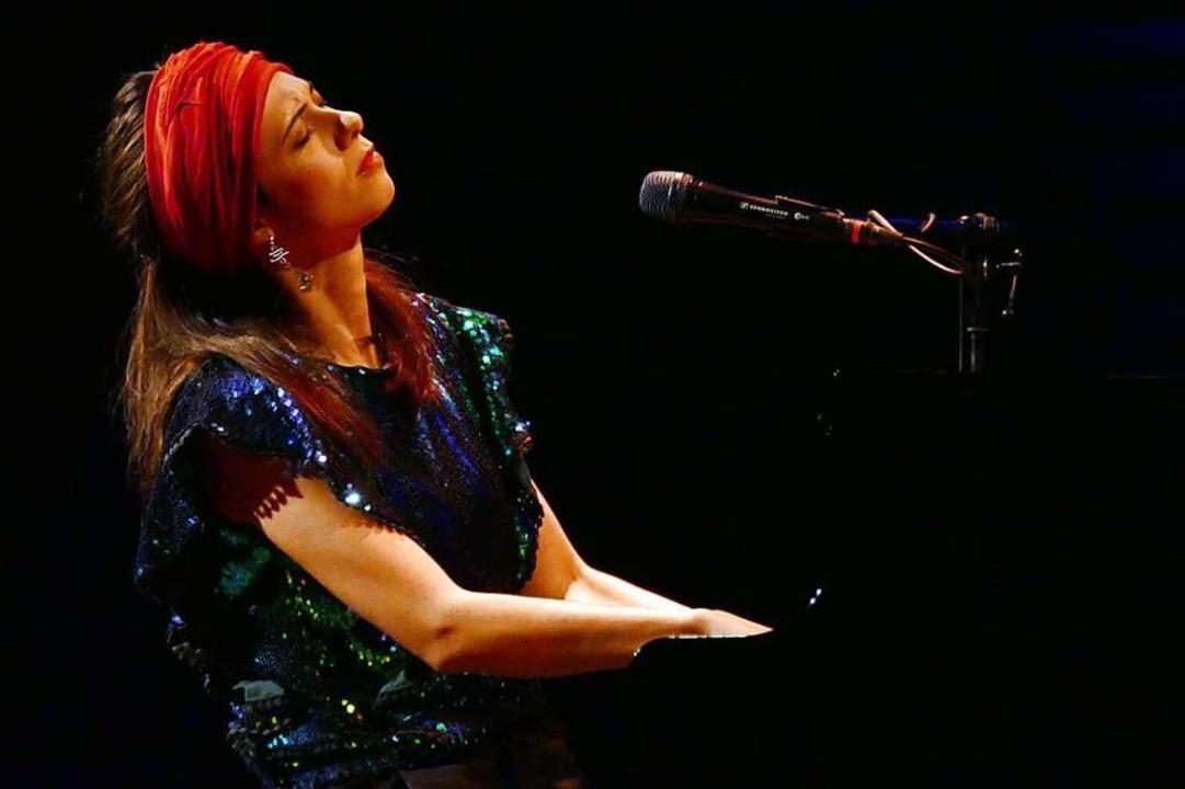 Olivia Trummer im Freiburger Jazzhaus  | Foto: Wolfgang Grabherr