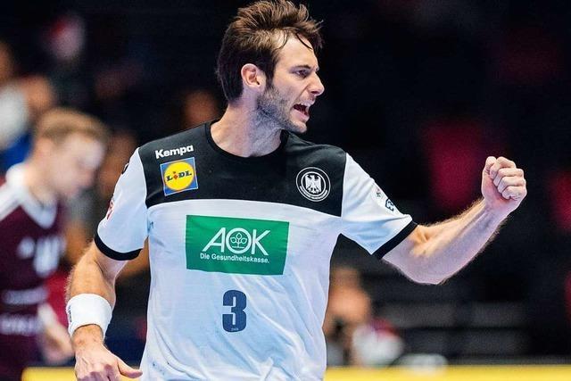 Deutschlands Handballer schlagen Lettland 28:27 und ziehen in die Hauptrunde ein