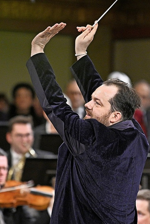 Dirigent Andris Nelsons  | Foto: Hans Punz (dpa)