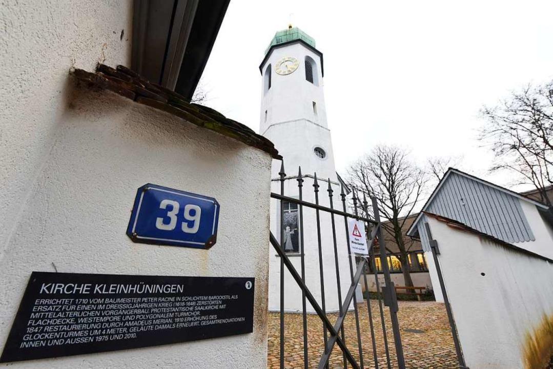 Die Kirche in Kleinhüningen  | Foto: Jonas Hirt