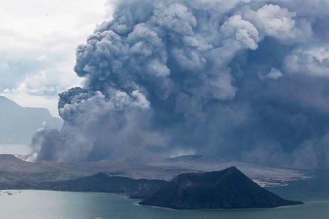 Vulkan Taal spuckt Lava und Asche – und es kann noch schlimmer werden