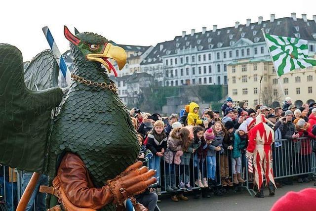 Beim Vogel Gryff-Fest kommt das kleine Basel groß raus