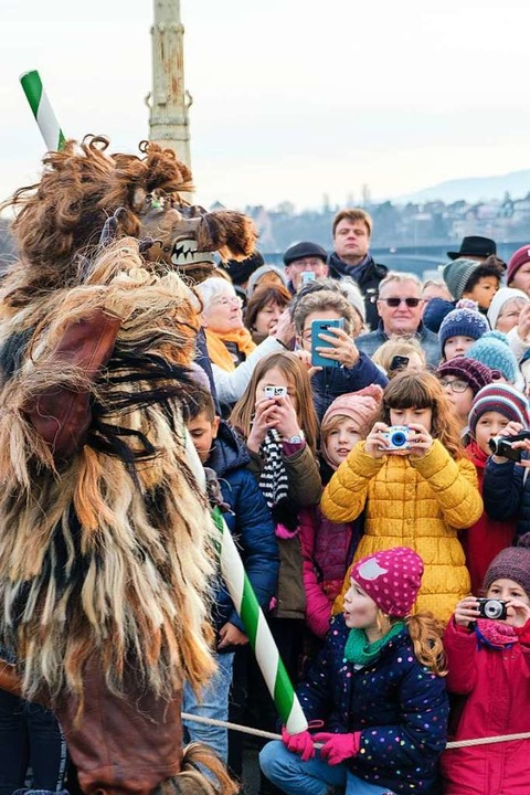 Der Leu ist ein beliebtes Fotomotiv.  | Foto: Ansgar Taschinski