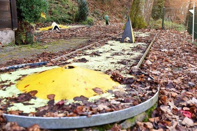 Auf dem Schlossberg gibt's nach fast 50 Jahren kein Minigolf mehr