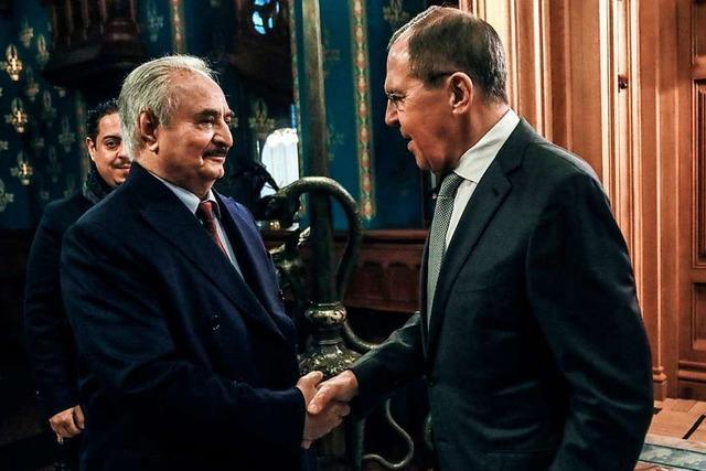Konflikt in Libyen: Gespräche über Waffenstillstand gescheitert