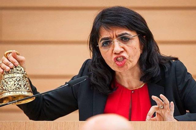 Landtagspräsidentin Aras will nicht Stuttgarter OB werden