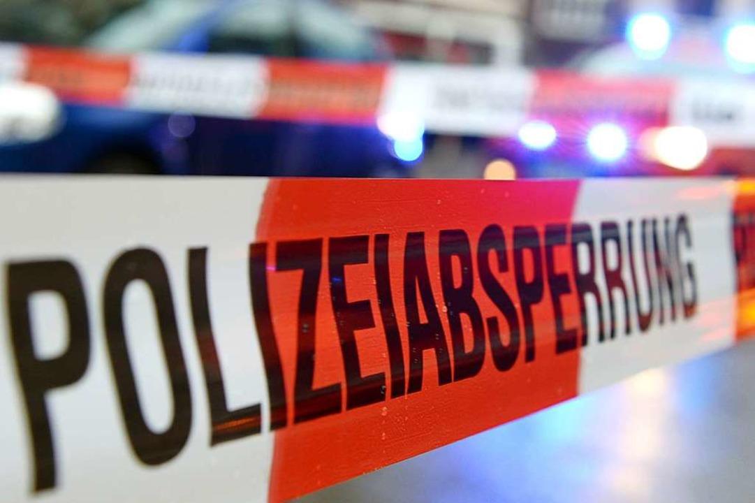 Zu einem Auffahrunfall kam es am Montag in Heitersheim.  | Foto: Patrick Seeger (dpa)