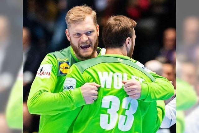 Torhüter-Krise bei deutschen Handballern: Wolff und Bitter im Tief
