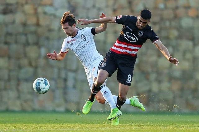 Ein erstes kleines Erfolgserlebnis für den FC Basel in Marbella