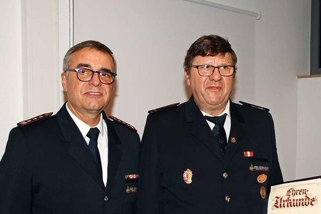 Feuerwehr Bötzingen leistete 2019 oftmals Hilfe in Nachbarorten