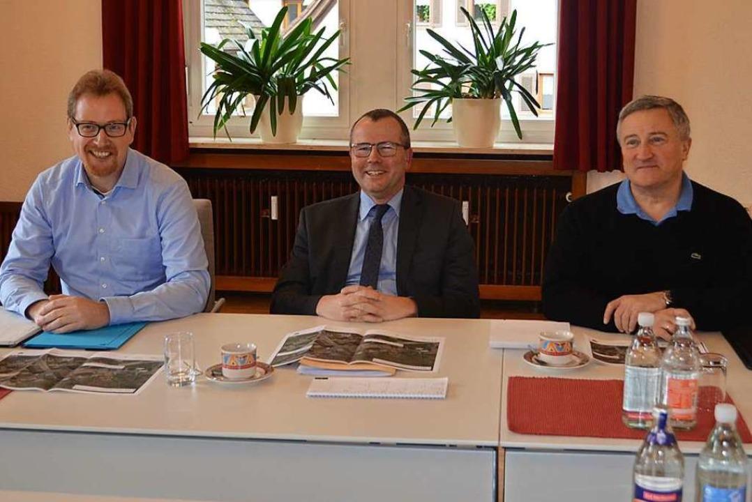 Pressekonferenz des Landratsamtes im S...on Straßenbau- und Straßenverkehrsamt.    Foto: Nikolaus Bayer