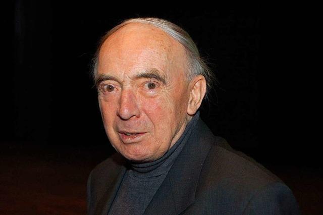 Berthold Hänel, ehemaliger Lörrach Kulturreferent, ist verstorben