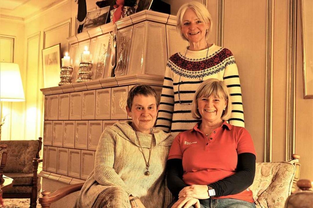 Freuen sich auf die Buchmesse: Imogen ...e und Monika Steurenthaler (von links)  | Foto: Susanne Gilg