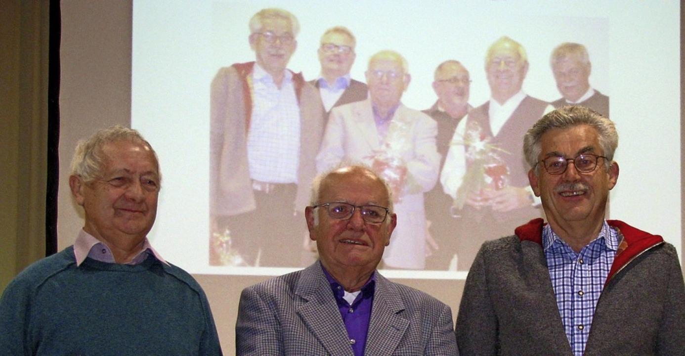 Sie fahren seit mehr als zehn Jahren e...Walter Riesterer und Wolfgang Eckerle.  | Foto: Manfred Lange
