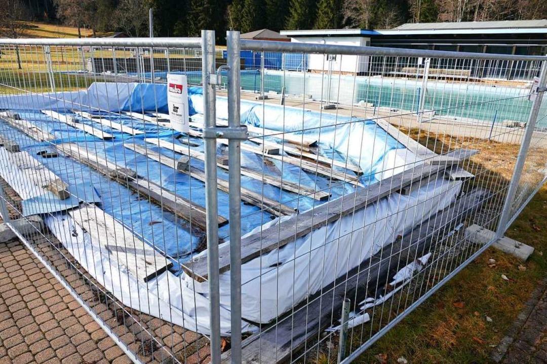 Wer die Badestelle in Titisee besucht,... eingezäunten Schwimmbecken aushalten.  | Foto: Peter Stellmach
