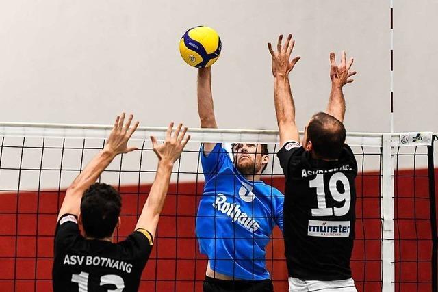Die Einhörner sind los – Volleyballer des USC Freiburg springen an die Tabellenspitze der Regionalliga