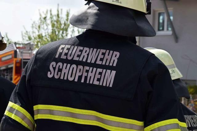 20 Bewerber wollen Feuerwehrkommandant in Schopfheim werden