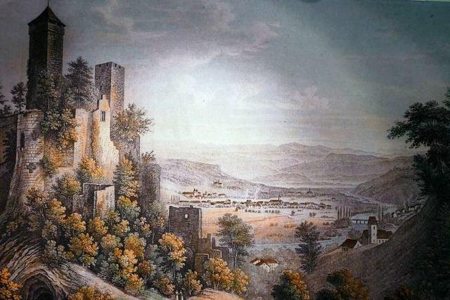 Die Burg Rötteln Lörrach und die Ästhetik der Ruine in der Literatur